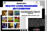Sutton YOT's 'Healthy Lving Programme' art exhibition- Aug 2006