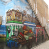 Bermondsey Blue Market mural
