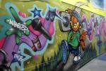 Woodlands Youth Centre mural, Gillingham, Kent