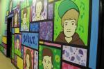 mural for Parkwood Youth Centre, Rainham, Kent
