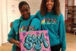 Positive Arts at Pop up Talent shops