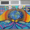 Mural at Gladstone Park Primary School