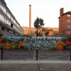 Aylesbury Estate Community Garden Graffiti Mural