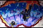 Harlow Foyer graffiti workshop