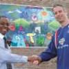St Hughes mural unveiling- Feb 2007