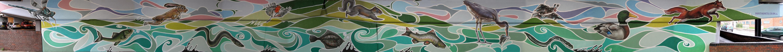 Croydon Jubilee Underpass mural